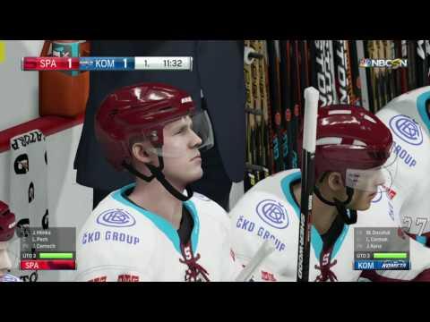 NHL 17 | HC Kometa Brno-HC Sparta Praha | PART 3 | XBOX ONE | CZ
