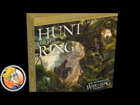 The Hunt For The Ring — game preview at Origins Game Fair 2017