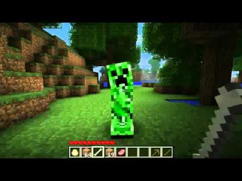 Minecraft приколы 3 Прирученный крипер!