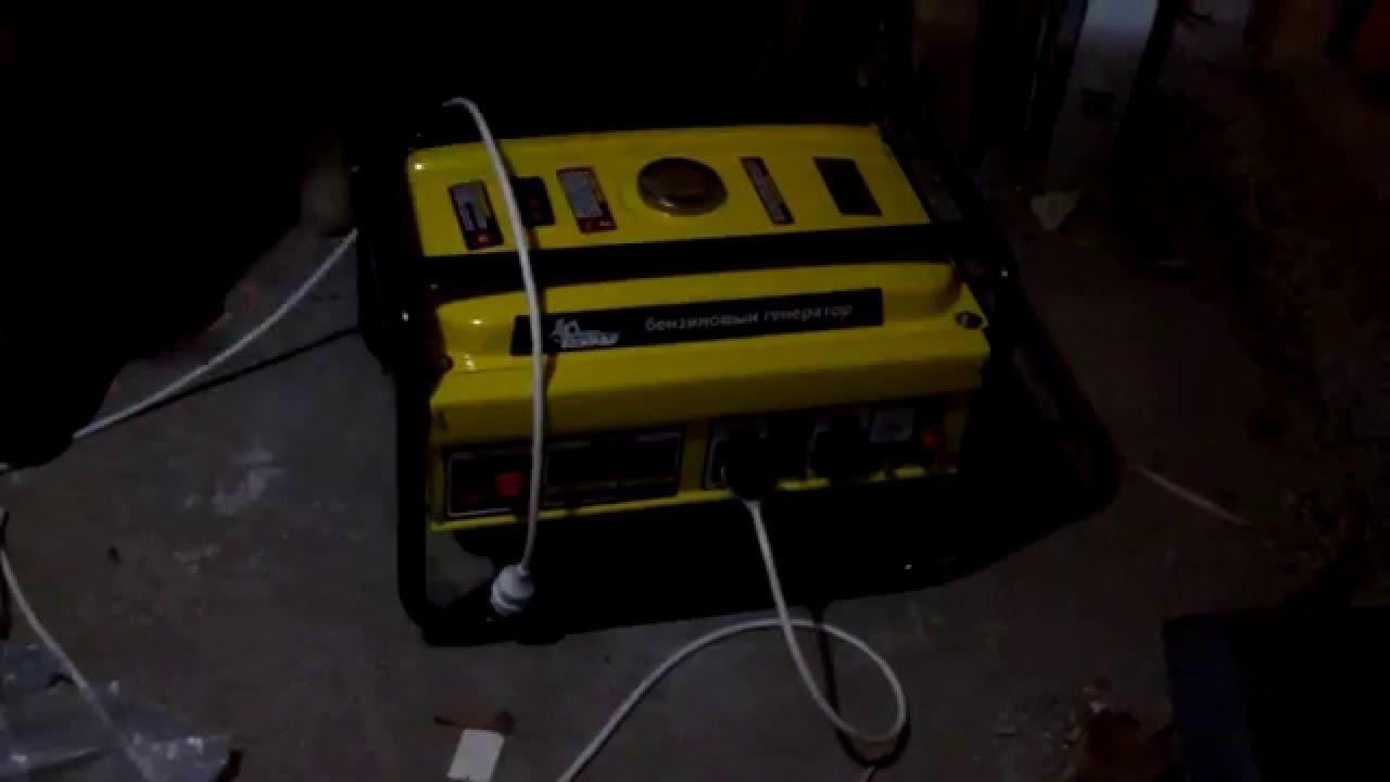 Электрический генератор и электростанция Kolner KGEG 900 M - YouTube