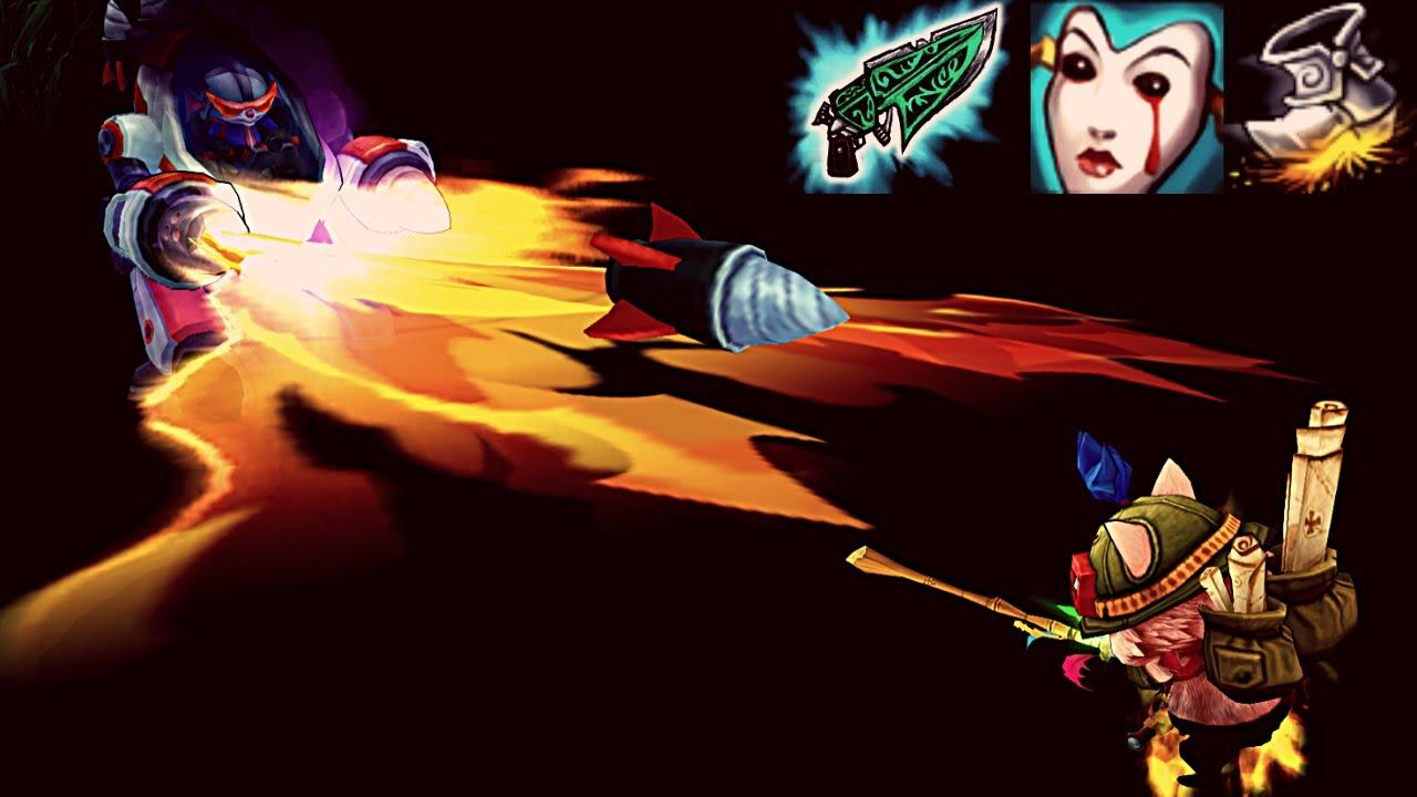 Gunblade Tryout [Teemo vs Rumble]