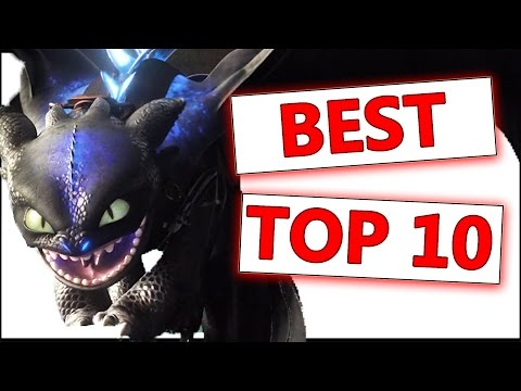 TOP 10 Best Dragons | How To Train Your Dragon - Dragons: Rise of Berk