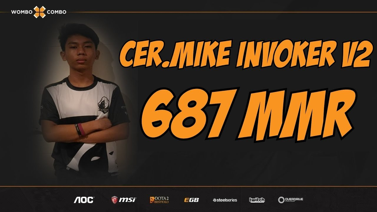 Cer.Mike.WxC Plays Invoker Version 2 | Invoker or Injoker? | 687 MMR Adventures