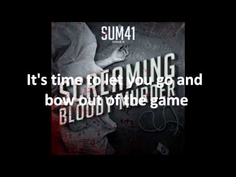 Sum 41 - Exit Song With Lyrics
