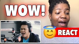 """Marcelito Pomoy sings """"Power of Love"""" Wish 107.5 REACTION!"""