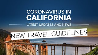 California sets travel, gathering advisories as COVID-19 cases rise