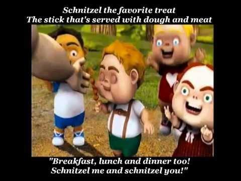 Hoodwinked - The Schnitzel Song (with lyrics)