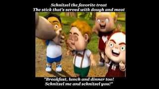 Hoodwinked - The Schnitzel Song (with lyrics)