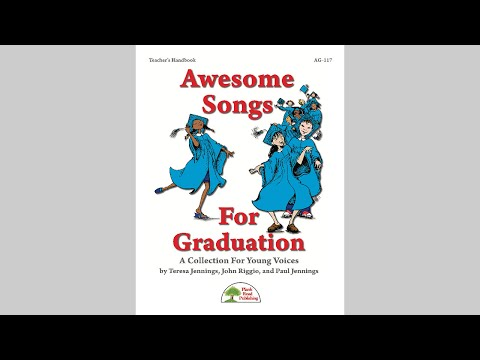 Awesome Songs For Graduation - MusicK8.com Page Turner