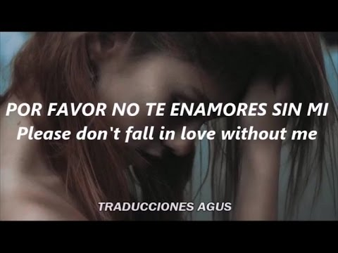 Zara Larsson // I can't fall in love without you (LYRICS/ESPAÑOL)