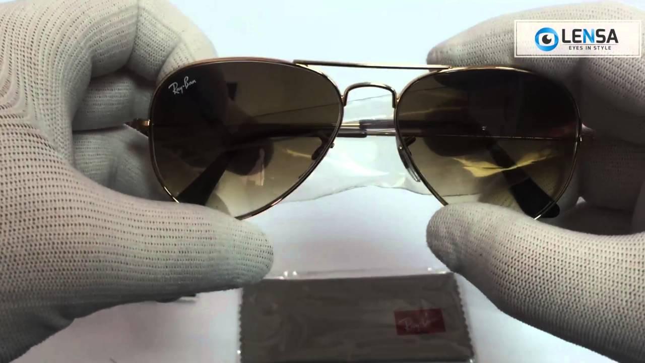 a52450fee1d Ochelari de soare Aviator Large Metal Ray-Ban RB3025 001 51 - LENSA ...