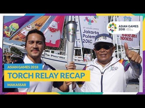 Asian Games 2018 - Torch Relay Recap (Makassar)