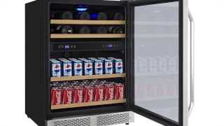 EdgeStar 24 Inch Built-In Wine and Beverage Cooler- CWB7016DZ Thumbnail