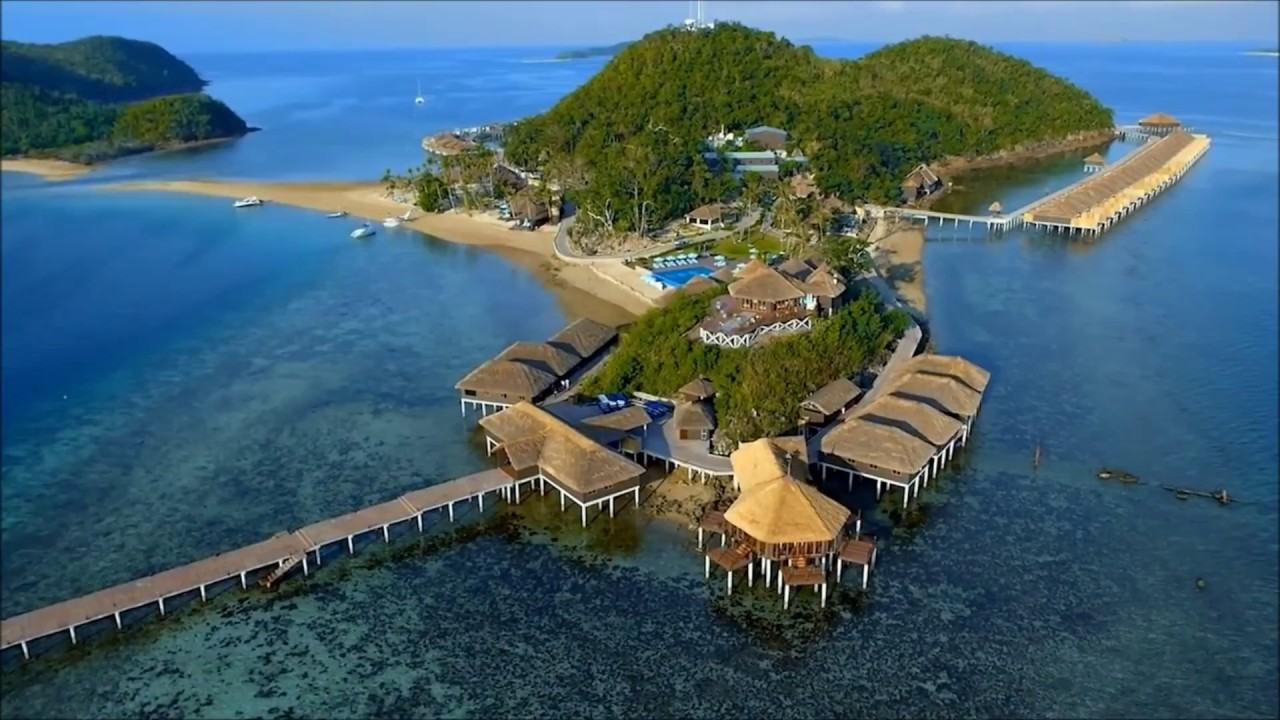 Maldivian Inspired Island Resort In Palawan Philippines