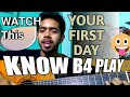 know this before play guitar