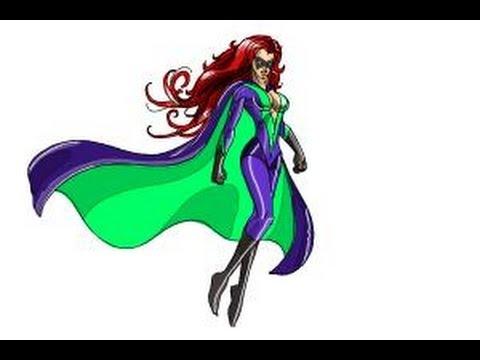How To Draw Female Superheroes Youtube