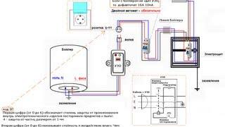 Электрическая схема подключения бойлера(Как подключить бойлер к электросети. -------------------------------------- Бескаркасные ангары в МО от от 2250 руб: http://prmzona.ru., 2013-03-03T20:27:32.000Z)