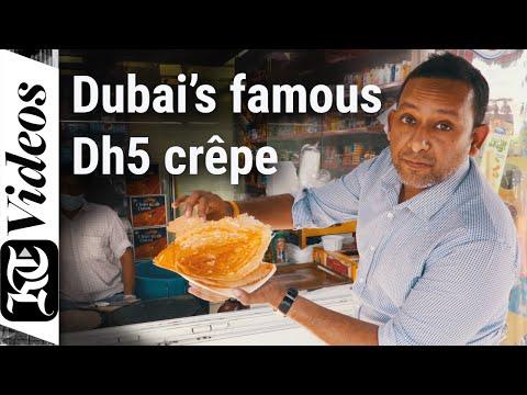 Have you tried this famous Dh5 Dubai crêpe?