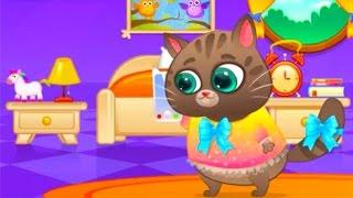 Котик Бубу игра мультик про кота Котофея Котенок Бубу делает ремонт квартиры
