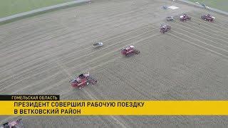 Чем закончилась рабочая поездка Лукашенко по Гомельской области?
