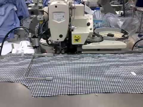 Maica Full Automatic Production Line For Shirt Portugal YouTube Cool Automatic Sewing Machine For Shirts