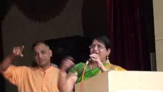 Smt.Usha Srinivasan-Aug 2012-Felicitation