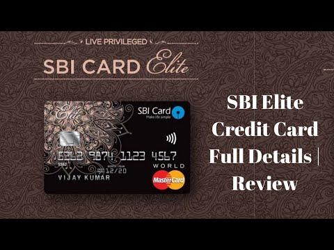 SBI Elite Credit Card Unboxing Benefits  | Full Details & Elite Credit Card Review 🔥🔥🔥