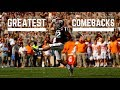 Greatest Comebacks in College Football History