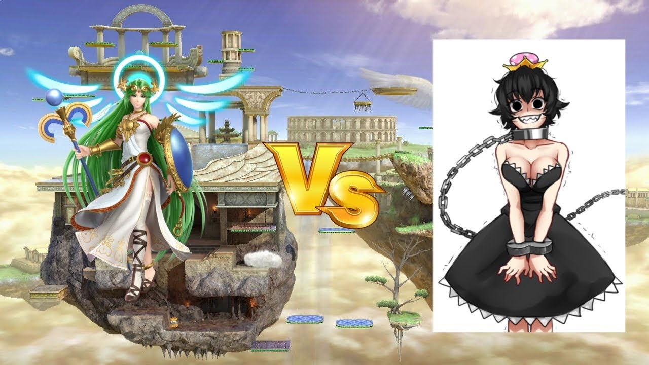 Palutena Alights in Super Smash Bros. for Wii U and 3DS
