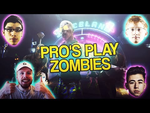 COD PROS TRY ZOMBIES (HILARIOUS)