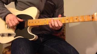 Twangy guitar lick