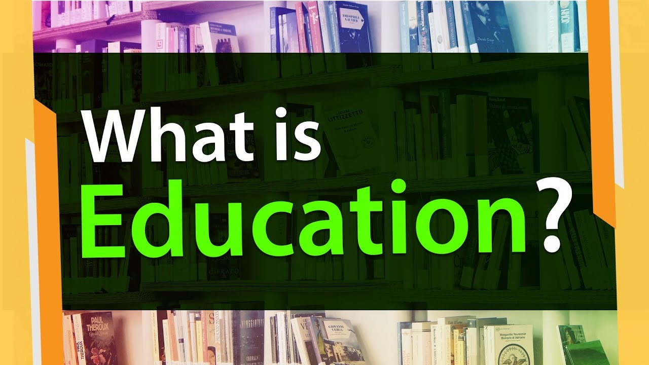 What is Meaning of Education? |  Derivation Explained  | Information Video