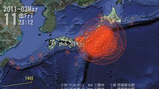 한국과일본의지진비교