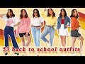 53 REALISTIC BACK TO SCHOOL OUTFIT IDEAS (COLLEGE + DRESS CODE APPROVED) ♡