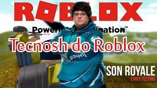 (ROBLOX) Prison Royale - Sou o Tecnosh do Roblox ?!?