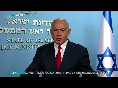 "Israel PM Netanyahu says Iran ""crossed a red line"""