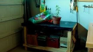 Easy Diy Garden Work Bench