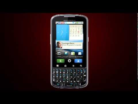 Motorola Pro: Primeros pasos