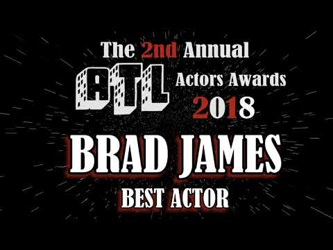 ATL ACTORS AWARDS 2018  Honoree-BRAD JAMES