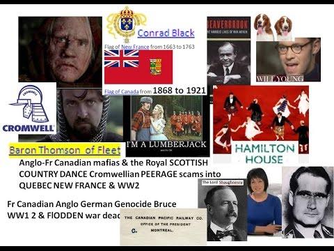 Fr Canadian Anglo German Genocide Bruce WW1 2 & FlODDEN war dead