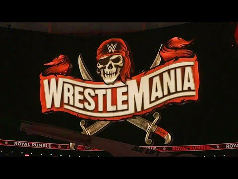 Iconic WrestleMania 37 sign revealed ahead of Royal Rumble: WWE Network Exclusive, Jan. 31, 2021