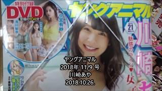 ヤングアニマル 2018年 11/9 号 川崎あや シェアOK お気軽に 【映画鑑賞...
