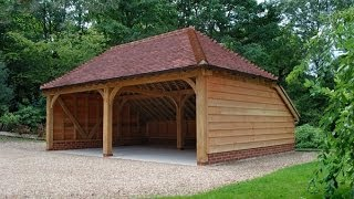 Oak Framed Buildings - Nice Selection Of Barns