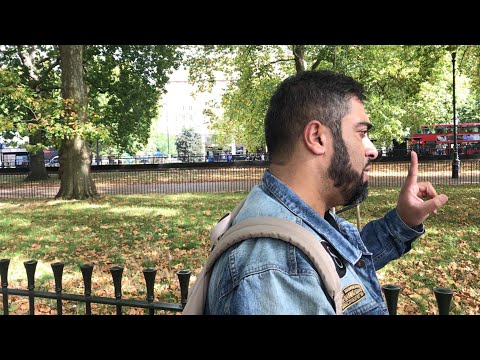 Why Is There Suffering In The World? | Rizwan Vs 'Abrahamic Atheist' | Speakers Corner