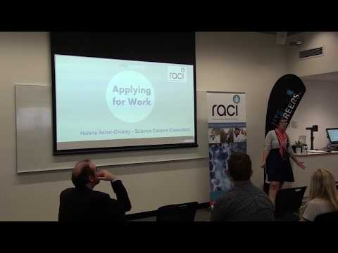 RACI YCG Graduate Careers Launchpad Pt 3 - LinkedIn & Applying for Work (Helena Asher - UTS Careers)