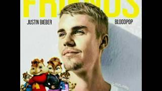 Justin Bieber ft. BLODPOP - Friends ( Chipmunks Version )
