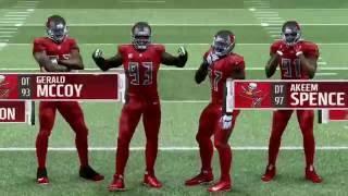 NFL Week 9 - Atlanta Falcons vs Tampa Bay Buccaneers - Full Game - Simulation Nation