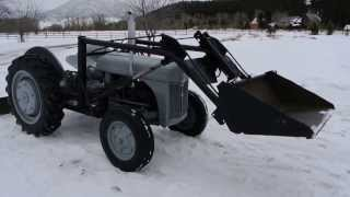 Diy Ford Tractor Front End Loader Details