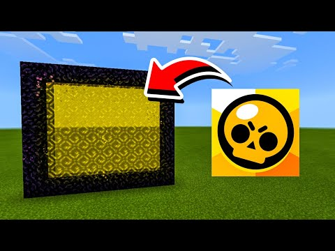 How To Make A Portal To The BRAWL STARS Dimension in Minecraft !