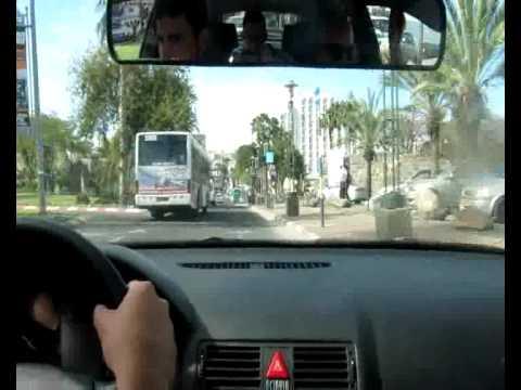 2.1 אבי לוי - שיעור נהיגה מצולם עם הסברים חלק
